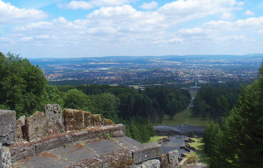A view of Kassel, Germany, one of the best offbeat day trips from Berlin